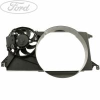 Вентилятор радиатора в сборе Ford Transit 2,4 06- (с кондиционером)