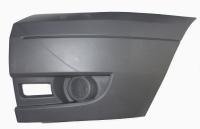 Бампер передний (левая часть, без ПТФ) Ford Transit 06-