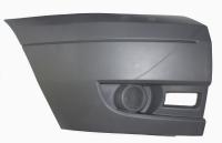 Бампер передний (правая часть, без ПТФ) Ford Transit 06-