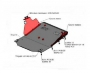 Защита картера двигателя 2.2/2.4 Форд Транзит V (задний привод)